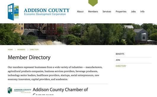 Addison County EDC