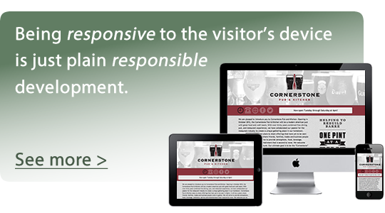 responsive web development is responsible