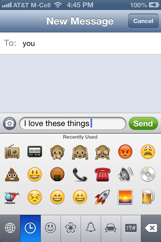 Cool Symbols Emoticons For Your Iphone Ipad Vickeryhill