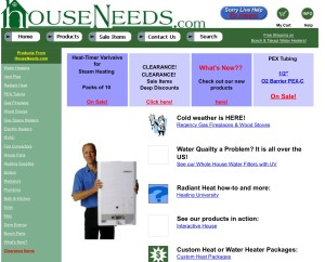 old Houseneeds website