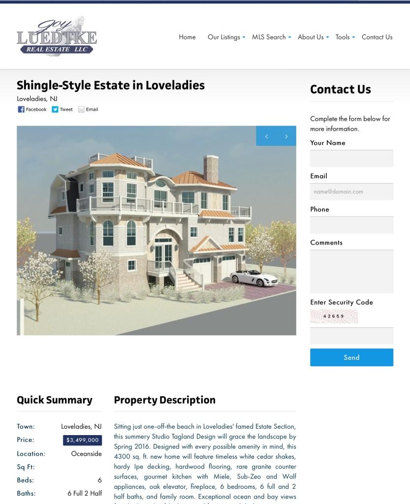 LBI estate in Loveladies