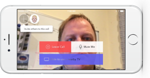Steve uses HighFive iOS app on his iPhone 6s
