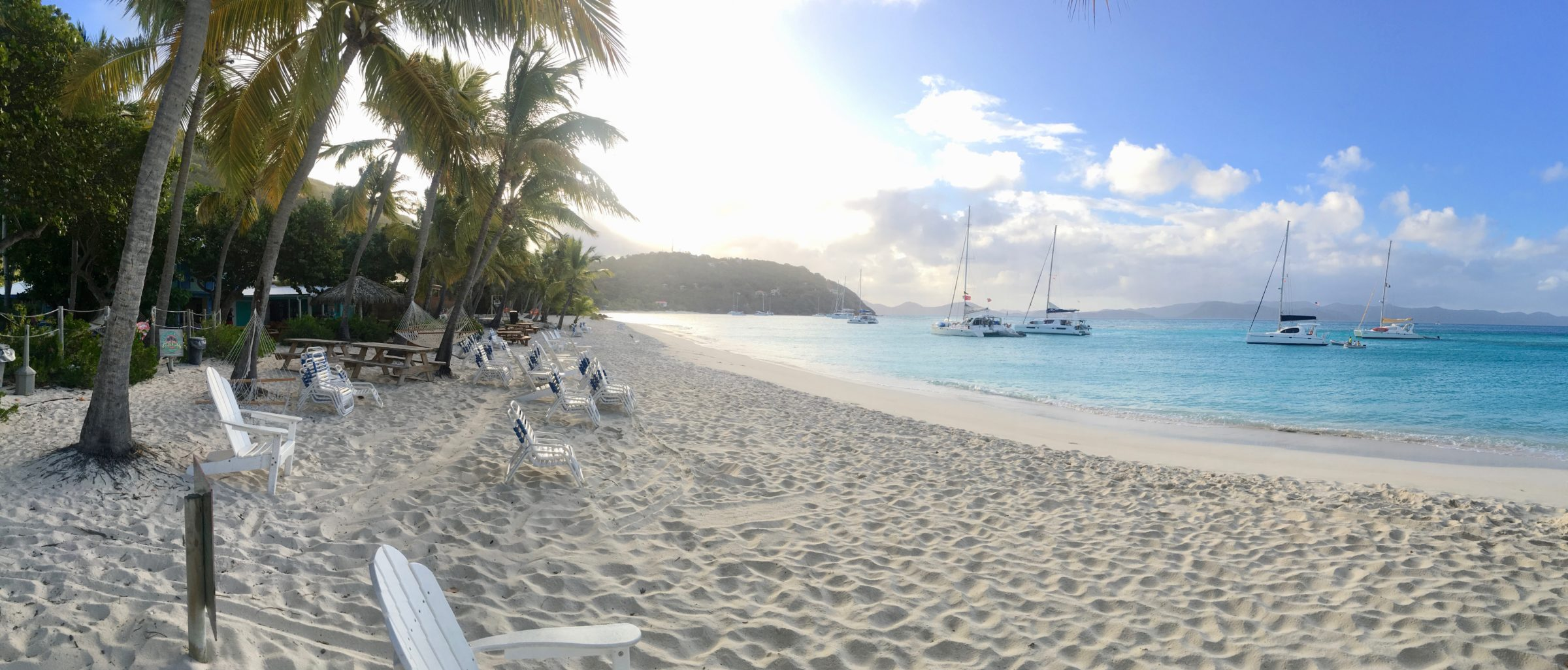 White Bay on Jost Van Dyke BVI